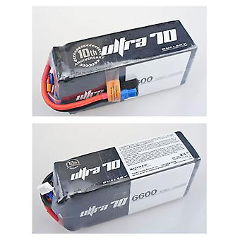 6600 mAh 70C 6s2p 22,2 v, 12 C charge