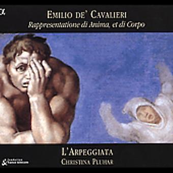 E. de Cavalieri - Cavalieri: Rappresentatione Di Anima, Et Di Corpo [CD] USA importerer