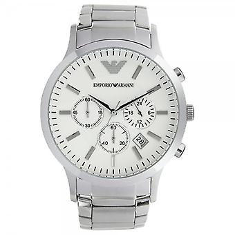 Armani Watches Ar2458 Gents Silver Stainless Steel Watch