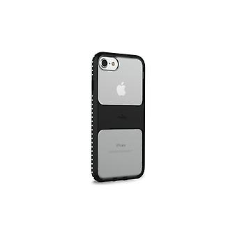 Puro iPhone 8/7/6S, Impact Pro Magnet Shield, svart