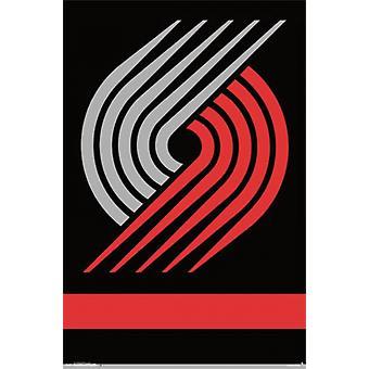 Portland Trail Blazers - Logo 14 plakat plakat Print