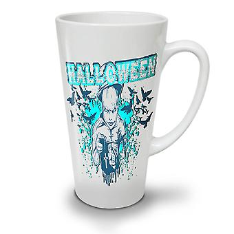 Halloween Horror Cult NEW White Tea Coffee Ceramic Latte Mug 17 oz | Wellcoda