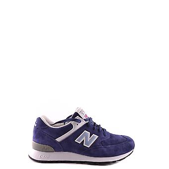 New balance women's MCBI221013O Blau suede of sneakers