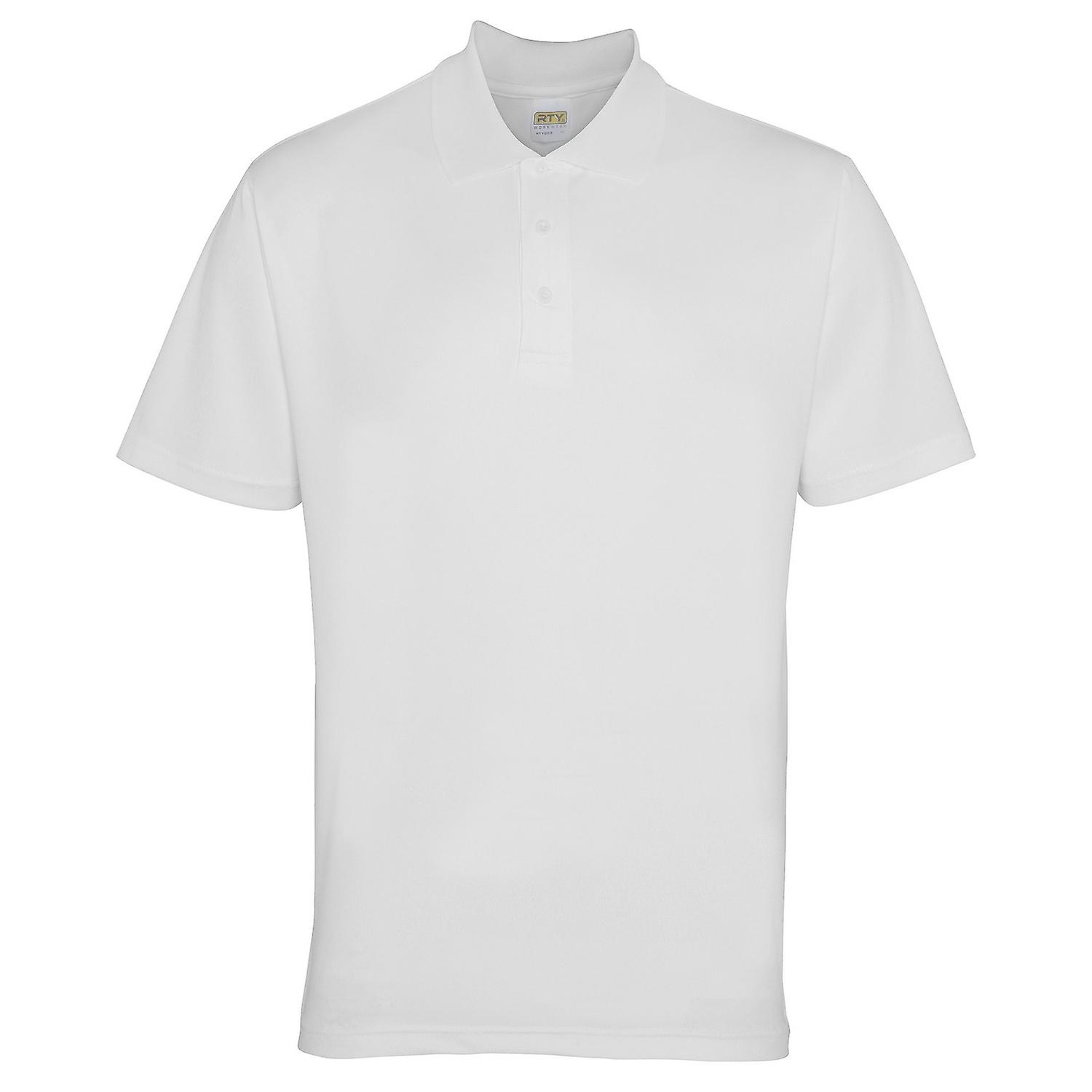 RTY Workwear Mens Short Sleeve Performance Polo Shirt