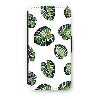 iPhone 6/6S Plus Flip Case - Tropical leaves