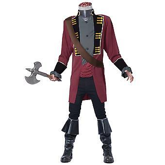 Sleepy Hollow Headless Horseman medeltida Ghost skräck Fox serien Mens kostym
