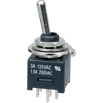 Toggle switch 250 Vac 3 A 2 x On/On SCI MTE202A1