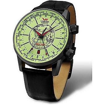 Vostok-Europe watches gents world timer automatic 2426-5604240