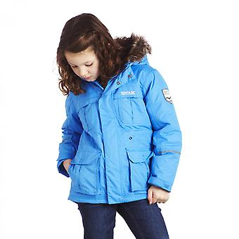 Regatta Kids Doofus Waterproof Breathable Jacket Blue RKP120