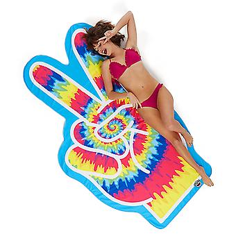 Beach towel Peacezeichen form towel Beach blanket peace peace hippie sheet 196 x 108 cm