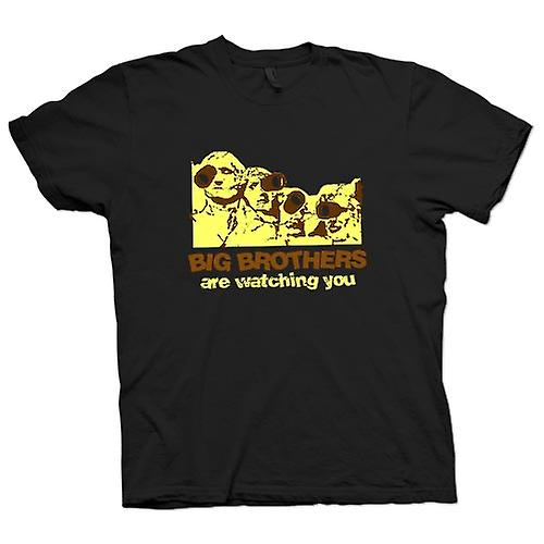 Mens T-shirt - Big Brothers Are Watching You 1984 - Police State