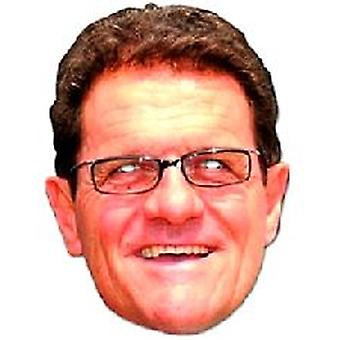 Fabio Capello Face Mask.
