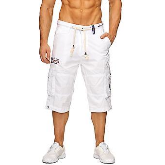 Мужская Капри Нью-Йорк Бермуды груз короткие брюки Yachtsport клуб с поясом