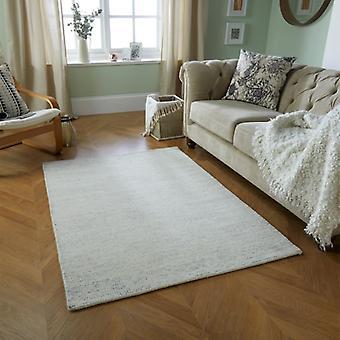 Milano grå rektangel mattor Plain/nästan slätt mattor