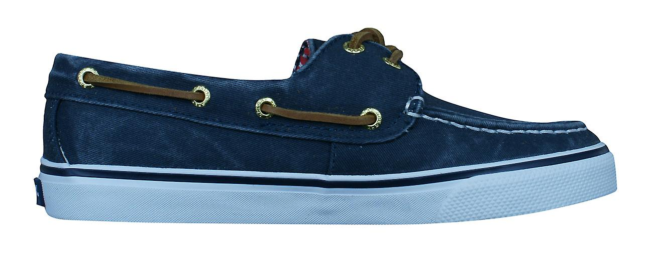 Bahama Navy Sperry Womens Boat Canvas Deck Shoes OSdSTwq