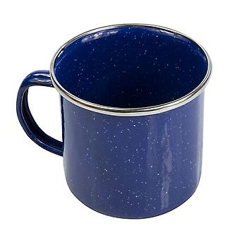 Regatta 550ml Emaille Tasse - blau