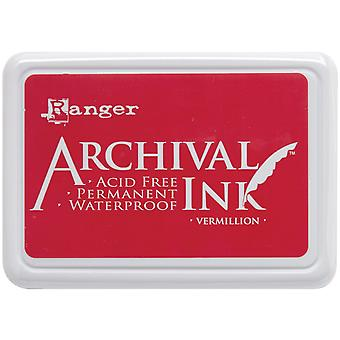 Archival Ink Pad #0-Vermillion