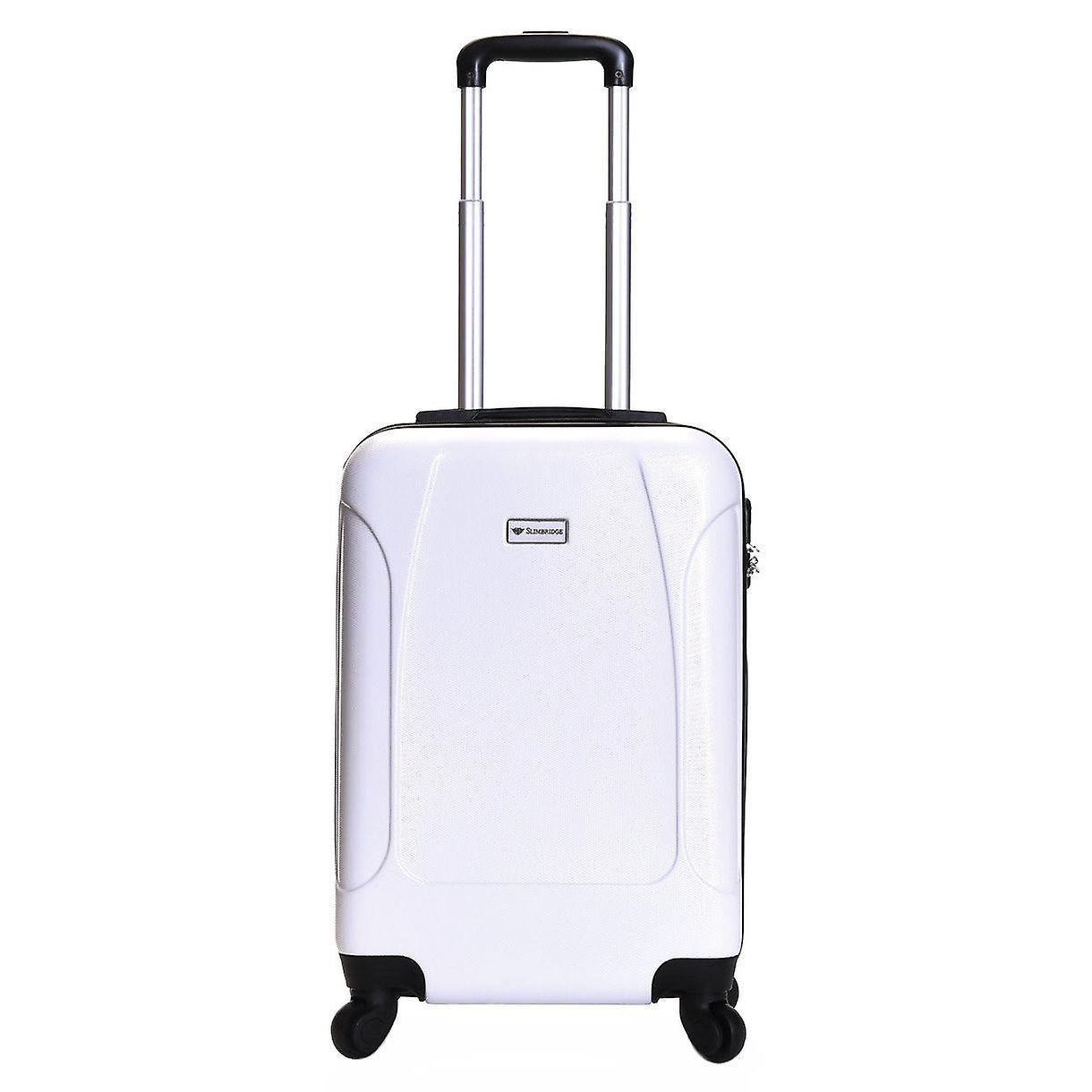 Slimbridge Alameda 55 cm Hard Suitcase, Pearl White