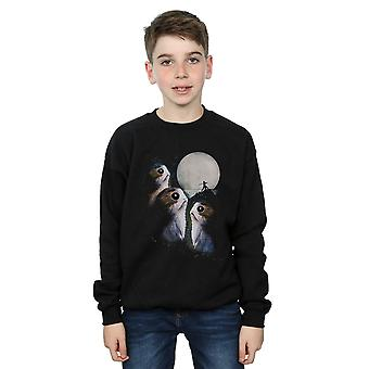 Star Wars Boys The Last Jedi Porgs Sunset Sweatshirt