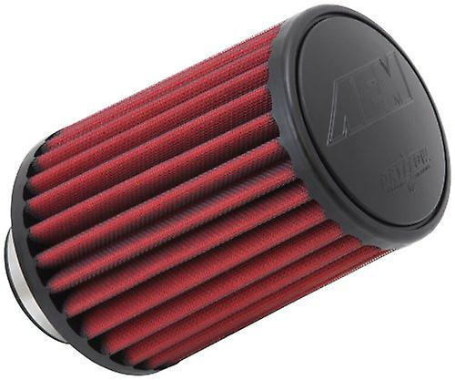 AEM 21-2157DK Universal DryFFaible Clamp-On Air Filter  Round Taperouge; 2.75 in (70 mm) Flange ID; 7.5 in (191 mm) Height; 5