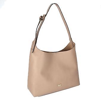 MICHAEL by Michael Kors Junie Medium Truffle Leather Hobo Bag