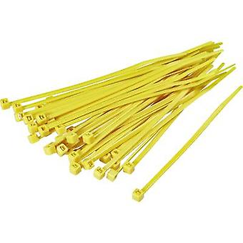 KSS 1369084 CV200M Cable tie 203 mm Yellow 100 pc(s)
