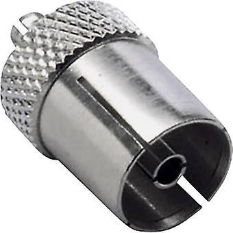 MCX adapter MCX plug - Coax socket BKL Electronic 0416303 1 pc(s)
