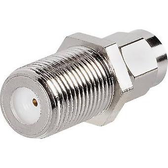 SMA adapter SMA plug - F socket BKL Electronic 0409095 1 pc(s)