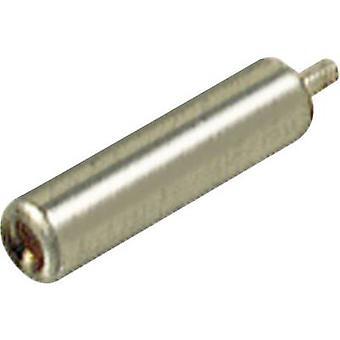SKS Hirschmann MBU 2 Mini jack socket Socket, vertical vertical Pin diameter: 2 mm Metal 1 pc(s)