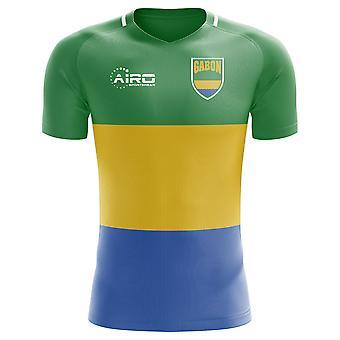 2018-2019 Gabon hjem konseptet fotball skjorte (barn)