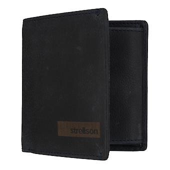 Pièces de sac à main masculine Strellson Goldhawk Billford Q7 purse portefeuille bleu 7343