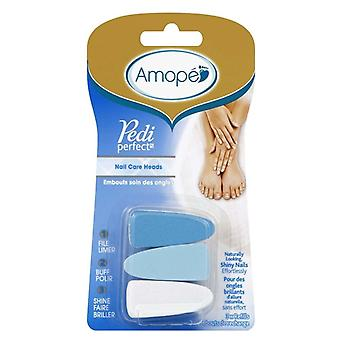 Amope pediperfect electronic nail file refill, 1 ea