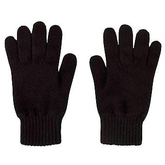 Johnstons of Elgin Jersey Gloves - Black