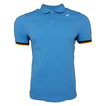 K-Way Polo Shirts Vincent Contrast