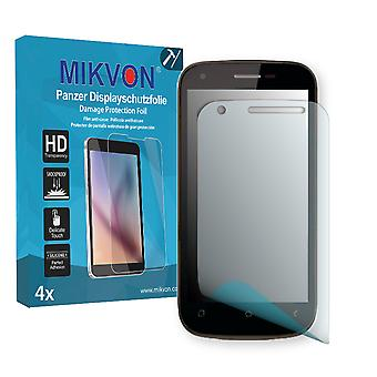 Wiko Cink Peax Screen Protector - Mikvon Armor Screen Protector (Retail Package with accessories)