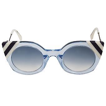 Fendi Waves Butterfly Sunglasses FF0240S MVU DB 47