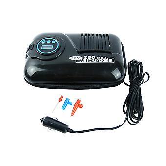Travel Portable Digital DC Electric Air Compressor 250PSI Car Tyre Pump 12V