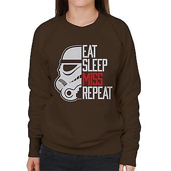 Stormtrooper original comer dormir camisola mulher Repeat Miss