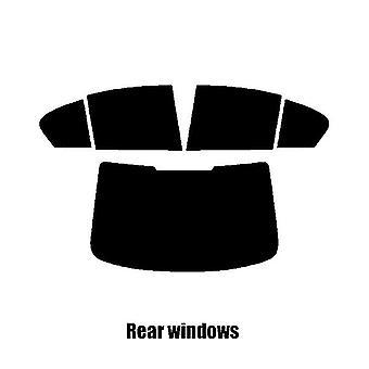 Pre corte windows de ventana tinte - BMW serie 5 4 puertas berlina (G30) - 2017 y nuevos - posterior