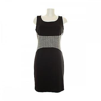 Latte Sleeveless Heart Print Shift Dress