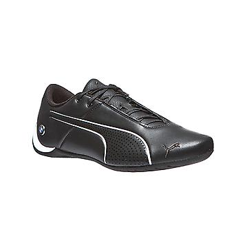 Mens real leather sneaker BMW MMS PUMA future cat ultra black