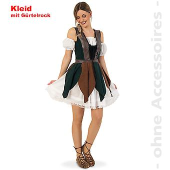 Robin Hood costume ladies forest runner Lady Marian Hunter Lady costume
