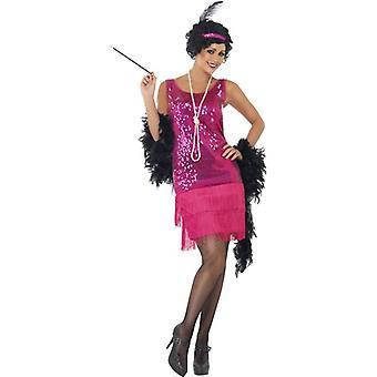 Funtime Flapper Costume, UK Dress 12-14