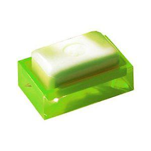 Gedy Rainbow Soap Dish Glossy Green RA11 04