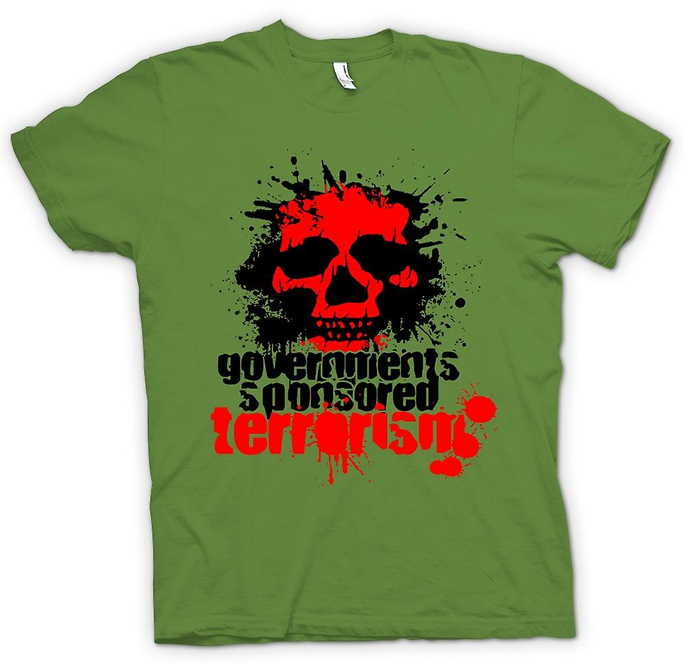 Mens t-shirt - Government Sponsored terrorismo