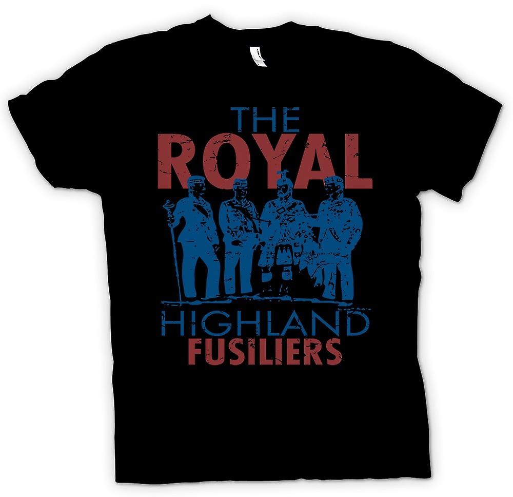Womens T-shirt - The Royal Highland Fusiliers - British Army