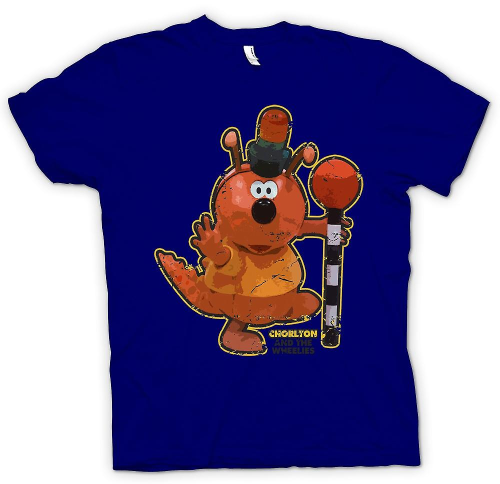 Herr T-shirt-Chorlton - Chorlton och Wheelies - Retro