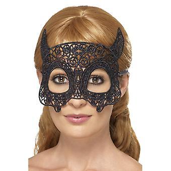 绣花蕾丝菲利格雷魔鬼眼罩