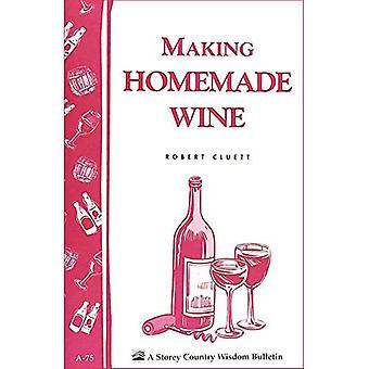 Wine Making at Home (Garden Way bulletin)