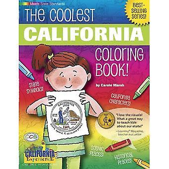 Le livre de coloriage de Californie plus cool!